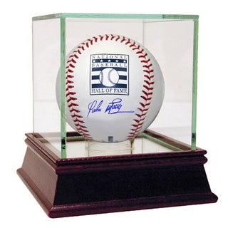 Pedro Martinez Signed Hall of Fame Logo Baseball ( MLB Auth)