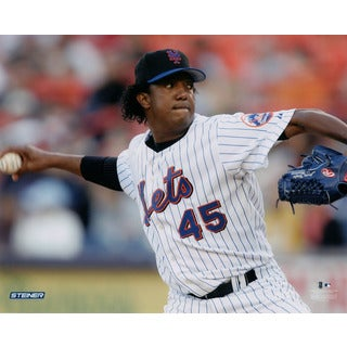 Pedro Martinez New York Mets Pitch 16x20 Photo
