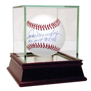 "Dale Murphy MLB Baseball w/ ""NL MVP 82,83"" Insc"
