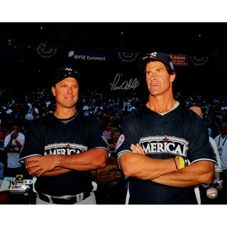Paul O'Neill Signed with Tino Martinez at the All Star Game 16x20 Photo ( MLB Auth)