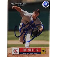 Curt Schilling Red Sox Trading Card