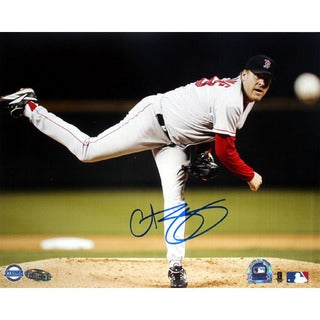 Curt Schilling Pitching Horizontal 8x10