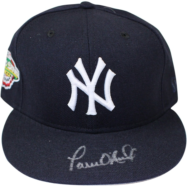 Paul O'Neill Signed New York Yankees Authentic Hat w/ 2001 WS Patch Size: 7 1/2