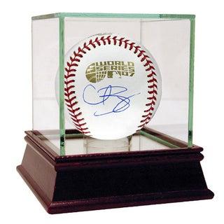 Curt Schilling 2007 World Series Baseball (MLB Auth)