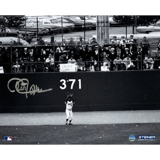 Cleon Jones Signed 1969 WS Game 5 Last Out Horizontal 8x10 Photo