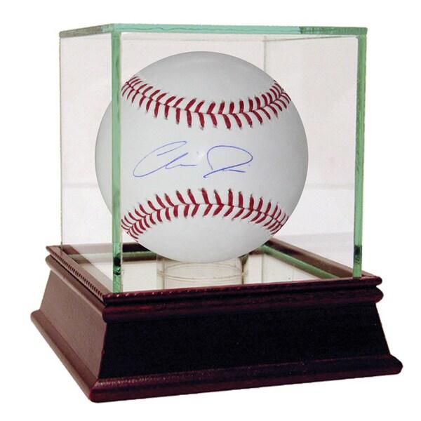 Chris Davis Signed MLB Baseball