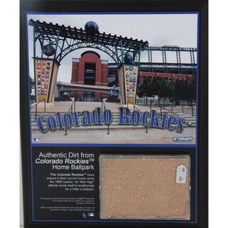 Coors Field 8x10 Dirt Plaque