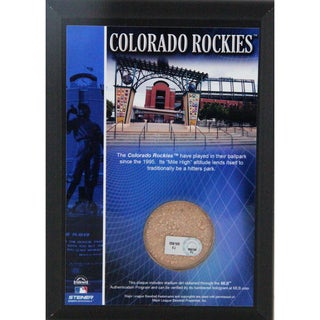 Coors Field 4x6 Dirt Plaque