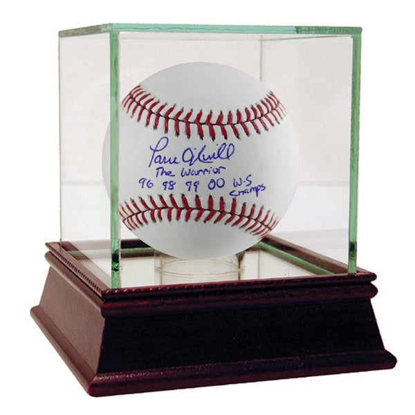 "Paul O'Neill Signed MLB Baseball w/ ""The Warrior, 96 98 99 00 WS Champs"" Insc"