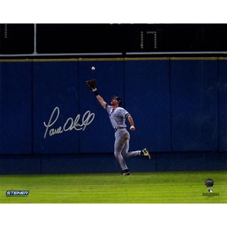 Paul O'Neill Signed 1996 WS Game 5 Catch 8x10 Photo