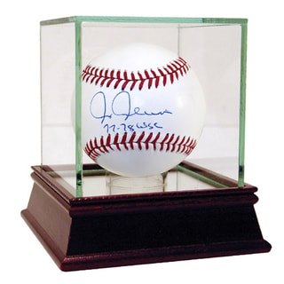 "Chris Chambliss Signed MLB Baseball w/ ""77-78 WSC"" Insc."