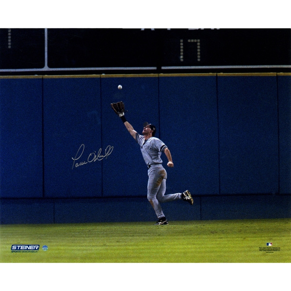Paul O'Neill Signed 1996 WS Game 5 Catch 16x20 Photo
