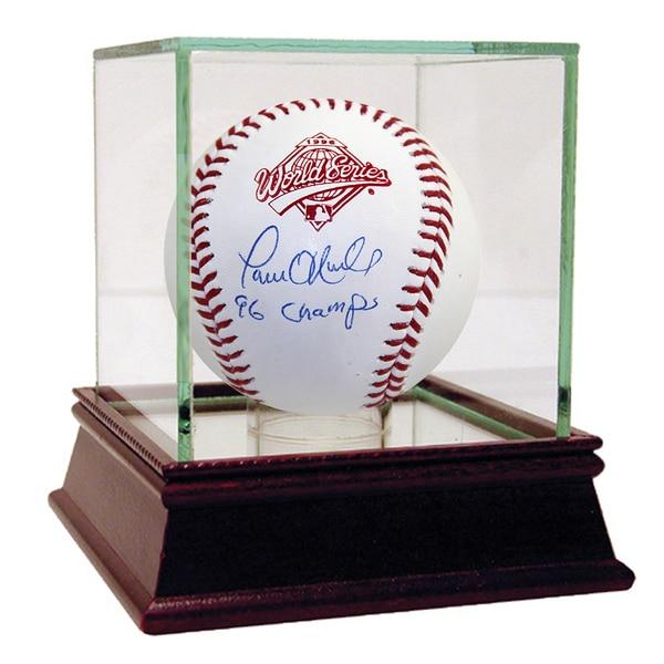 "Paul O'Neill Signed 1996 World Series Baseball w/ ""96 Champs"" Insc."