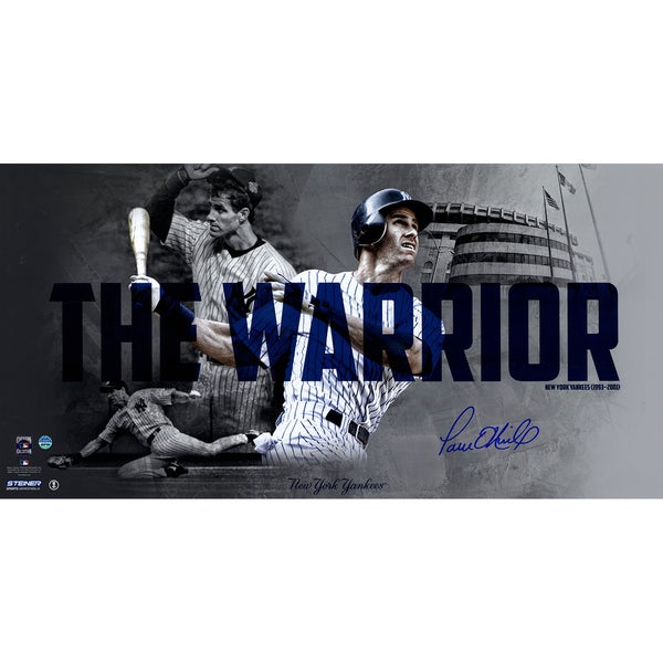 "Paul O'Neill Autographed ""The Warrior"" Collage 10X20 Photo"