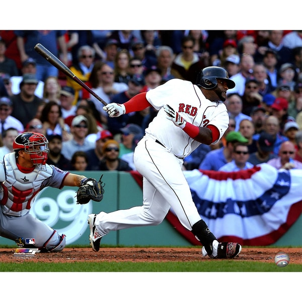 Pablo Sandoval Unsigned Boston Red Sox 16x20 Photograph