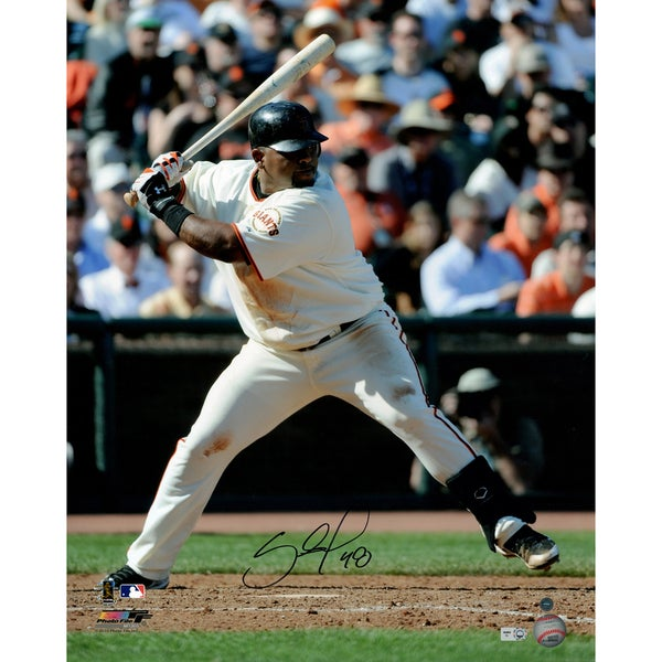 Pablo Sandoval Signed 16x20 San Francisco Giants Photo Collage (MLB Auth; SSM 3rd Party Holo)