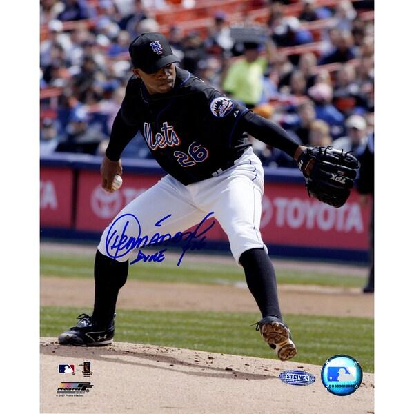 Orlando Hernandez Mets Action 8x10 Photo