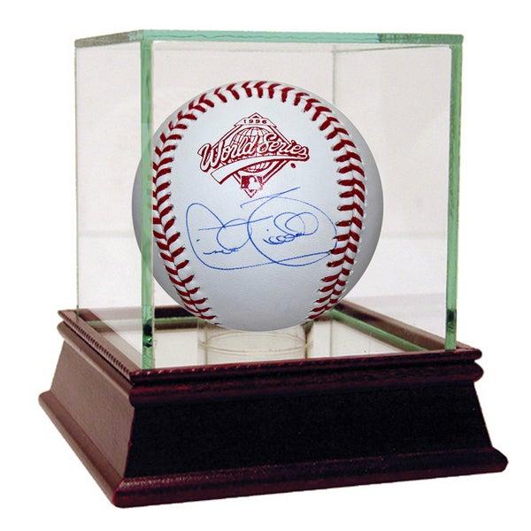 Cecil Fielder Signed 1996 World Series Baseball