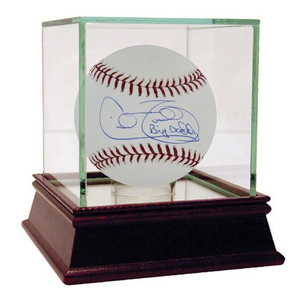 """Cecil Fielder MLB Baseball w/ """"Big Daddy"""" Insc"""