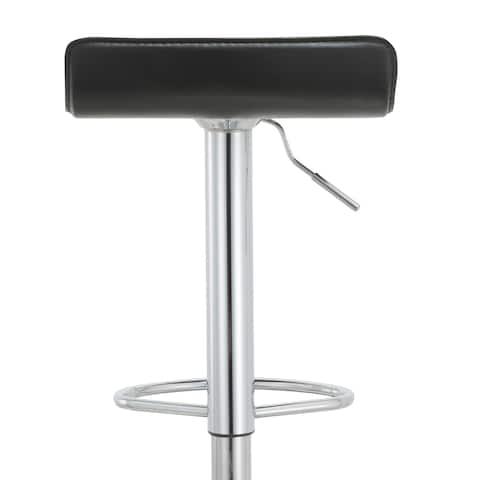 """Modern Adjustable Bar Stools (Set of 2) - 23.5 - 31.5""""h"""