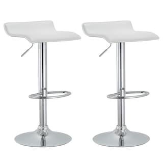 Modern Adjustable Barstools Set Of 2