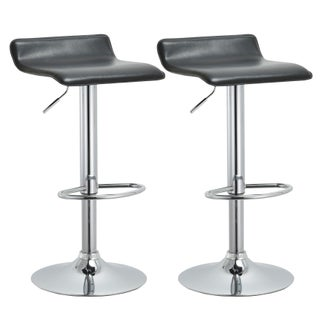 Modern Adjustable Bar Stools (Set of 2) (2 options available)