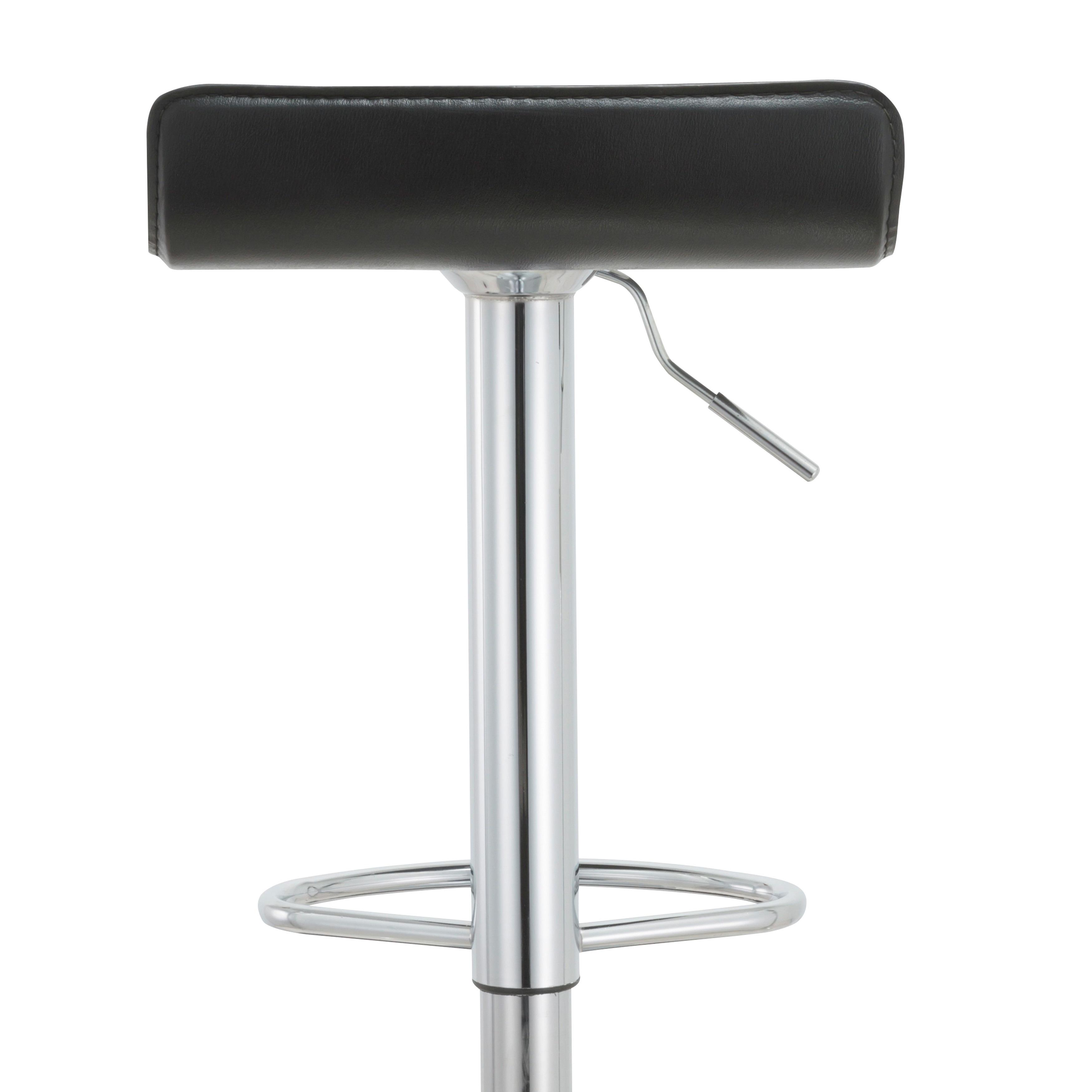 Shop Black Friday Deals On Modern Adjustable Bar Stools Set Of 2 23 5 31 5 H On Sale Overstock 11205230