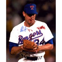 Nolan Ryan Signed Blood 16x20 Photo