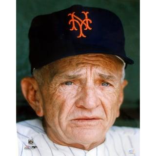 Casey Stengel New York Mets Close-up 16x20 (PF)