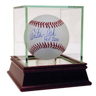 "Carlton Fisk Signed MLB Baseballs w/ ""HOF"" Insc."
