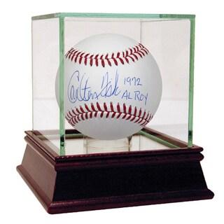 "Carlton Fisk Signed MLB Baseball w/ ""1972 AL ROY"" Insc."