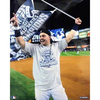 Nick Swisher 2009 WS Win Celebration 16x20 Photo uns (Getty # 92778585)- We Print