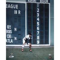 "Carl Yastrzemski Fielding Vertical 16x20 Photo w/ ""HOF 89"" Insc Signed by Photographer Ken Regan"
