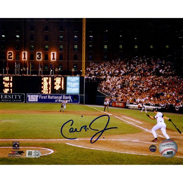 Cal Ripken Jr. Signed '2131 Shot' Horizontal 8x10 Photo (MLB Auth)