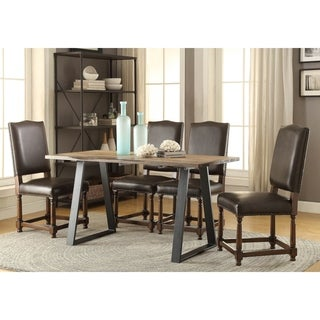 Somette Natural Solid Wood Dining Table