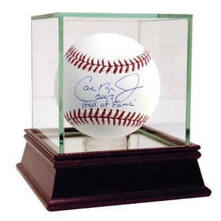 Cal Ripken Jr MLB Baseball w/ HOF Insc. (MLB Auth)