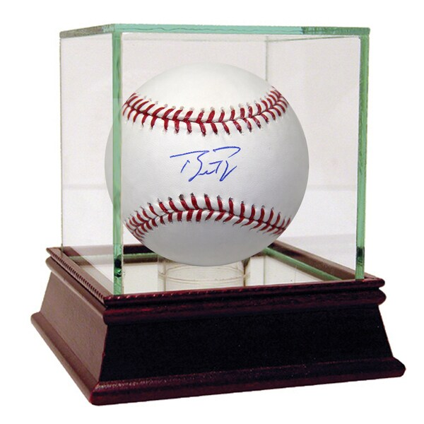 Buster Posey Signed MLB Baseball (LOJO Sports Auth)
