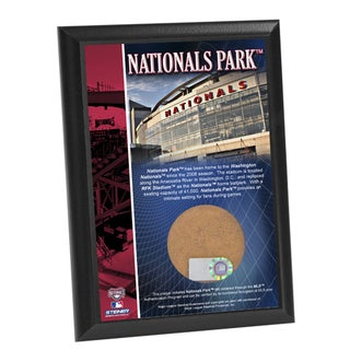 Nationals Park 4x6 Dirt Plaque