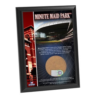 Minute Maid Field 4x6 Dirt Plaque