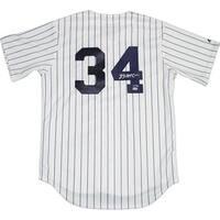 Brian McCann Signed New York Yankees Replica Pinstripe Jersey (MLB Auth)