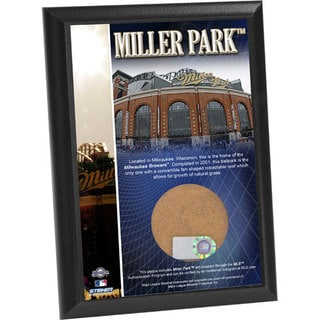 Miller Park 4x6 Dirt Plaque