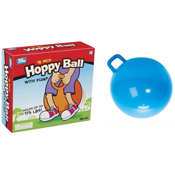 Toysmith 18-inch Hoppy Balls with Pump