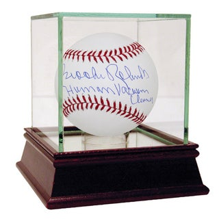 "Brooks Robinson MLB Baseball w/"" Human Vacuum Cleaner"" Insc (MLB Auth)"