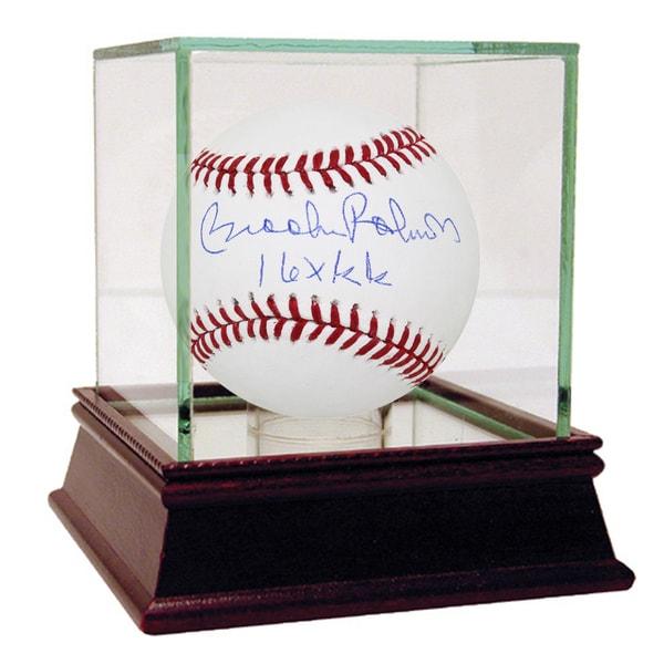 "Brooks Robinson MLB Baseball w/ ""16x GG"" Insc. (MLB Auth)"