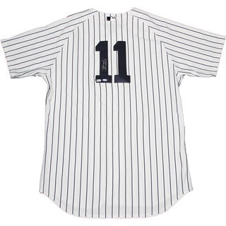 Brett Gardner Signed Authentic New York Yankees Home Jersey (Signed in Back) (MLB Auth)