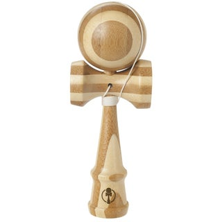 Toysmith Bamboo Kendama Toss and Catch Skill Game