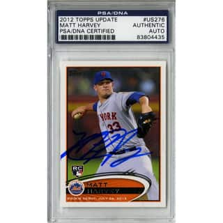 Matt Harvey Signed Topps Trading Card 7/26/12 (PSA/DNA)|https://ak1.ostkcdn.com/images/products/11205433/P18194371.jpg?impolicy=medium
