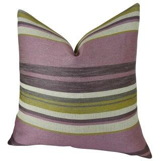 Plutus Berry Crush Handmade Double-sided Throw Pillow