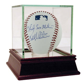"Bobby Valentine MLB Baseball w/ ""Red Sox Nation"" Insc. (Signed on Panel)"