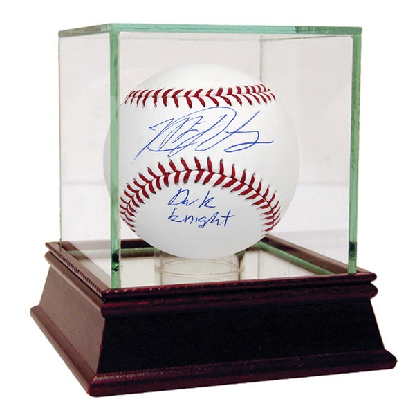 "Matt Harvey Signed MLB Baseball w/ ""The Dark Knight"" Insc. (MLB Auth)"